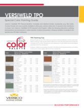 VersiWeld TPO Special Color Painting Guide